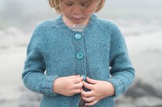 Ravelry: Little Shore Cardigan pattern by Carrie Bostick Hoge in the book Swoon Maine