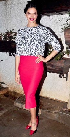 Deepika Padukone : In pictures: Special screening of 'Finding Fanny'