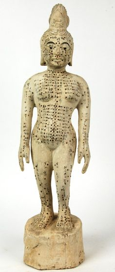 Ancient acupuncture model