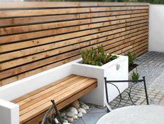 Small Patio Design, Modern Garden Design, Contemporary Garden, Fence Design, Balcony Design, Patio Pergola, Patio Seating, Garden Seating, Pergola Kits