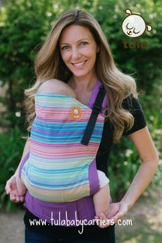 Canvas - Tula Release 'OASIS' Tula Baby Carrier; Released 2014