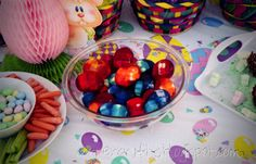 jello eggs with marshmallow bunnies inside, what could be better?