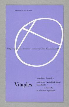 Carlo Vivarelli, Vitaplex, 1946