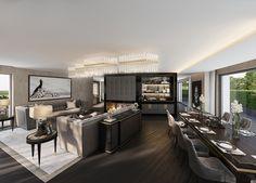 Luxus-Penthouse an der Goldküste Zürich   Studio5555