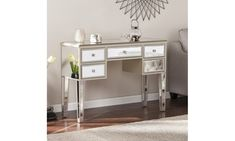 Groupon - Mirage Glam Mirrored Living Room Accents. Groupon deal price: $349.99