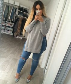 Cute sweater outfit☻