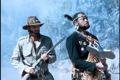 Allan Quatermain and Umslopogaas...
