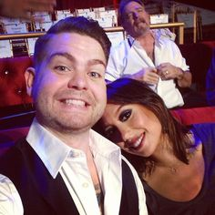 Thanks to Bill Engvall for the amazing photobomb! #DWTS