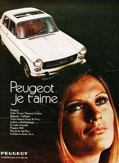 Peugeot 404 in French language