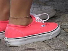 Coral vans. Need! I have the mint green ones, but I need these