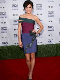 Herve Leger bandage dress, jessica stroup