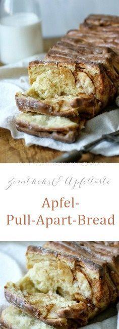 Leckeres und einfaches Rezept für Pull-Apart-Bread - Zupfbrot mit Äpfeln und Zimt - perfekt für den Herbst und den Sonntagskaffee