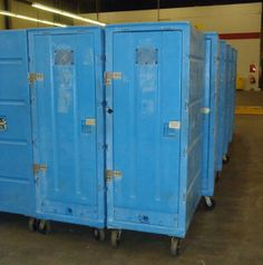 Used Thermosafe HR28P-C Durable Transport Containers