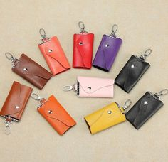 Smart Synthetic Leather Key Holder Purse at chemjoy.com