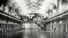 The Natatorium Hotel on Pitt St,Sydney in 1888 featured the city's first non-tidal pools in its basement. Filled with salt water pumped from the harbour almost two miles away. State Archives Office of NSW. Underground Pool, Liverpool Street, Australian Architecture, Make Way, Australia Hotels, Famous Landmarks, Grand Staircase, Slums, Salt And Water