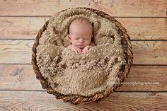 Popcorn Blanket Posing Fabric Newborn Photography Backdrop
