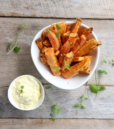 Crispy Sweet Potato, Vegetarian Recipes, Healthy Recipes, Healthy Food, Wheat Beer, Good Food, Yummy Food, Snacks, Side Dishes