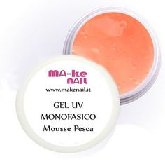 "NEW GEL UV MONOFASICO ""MOUSSE PESCA"" 15 ML"