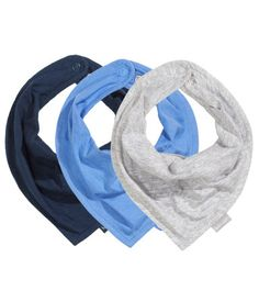 Bib scarf/Drool scarf.  So much cuter than having to wear a lame bib all the time, totally hipster.