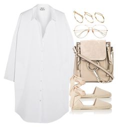 """""""Untitled #3485"""" by theeuropeancloset on Polyvore featuring Acne Studios, Chloé, Yves Saint Laurent and ASOS"""