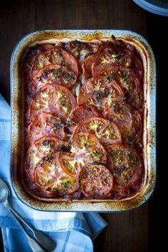 Greek Bean & Tomato Stew | DonalSkehan.com, A healthy, hearty, vegetarian feast.