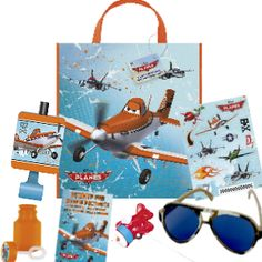 *Disney Planes: Deluxe Tote Bag Filled