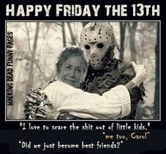 Jason and Carol -- best friends