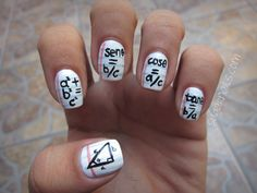 nerdy nails or creative cheating?