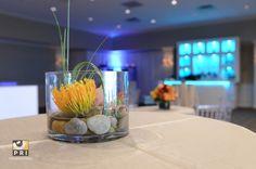 Simple cocktail table centerpiece