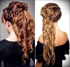 Christmas Hair StylesChristmas Hairstyles The Most Beautiful Photos And Tutorials with regard to Christmas Hair Styles Latest Hairstyles, Cool Hairstyles, Hairstyles 2018, Cherry Red Lipstick, Christmas Tree Hair, Christmas Hairstyles, Hair 2018, Hair Type, Hair Lengths