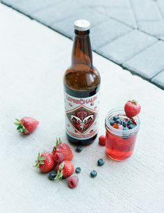 Leprechaun Strawberry Cider