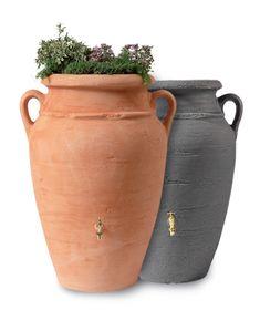 Baril de pluie Antique Amphora 250L - Barils de pluie - Jardin