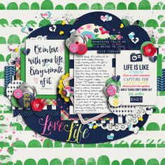Finger Pointing  –  May 15th - This is one of six layouts featured on the blog today! Come check them out.