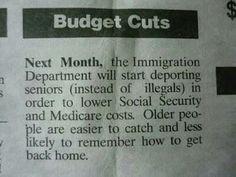 Poor old people