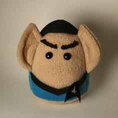 Spock Plushie by Saint-Angel.deviantart.com on @DeviantArt