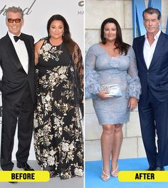 Keely Shaye's Weight Loss – How She Lost 100 Pounds As the wife of Hollywood stud and heartthrob, Pierce Brosnan, Keely Shaye's weight was always under scrutiny. When her new pictures flooded the internet, it was clear that Shaye Meal Plans To Lose Weight, Lose Weight In A Month, Losing Weight Tips, Best Weight Loss, Celebrity Weight Loss, Pierce Brosnan Wife, First Ladies, Lose 100 Pounds, Modelos Plus Size