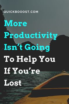 If more productivity is your aim, you need to first consider what you want and why you want it, lest you spend your time going in circles. #productivity #moreproductivity #productive