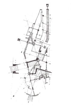 """I want to see the traces, stains and dirt of my work, the layering of erased… Architecture Graphics, Architecture Drawings, Art And Architecture, Architecture Diagrams, Conceptual Drawing, Plan Drawing, Concept Diagram, Designs To Draw, How To Draw Hands"