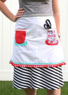 Tea Towel Apron kit from Crafternoon