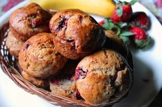 Its muffin time..yay..there is something more comforting in baking a muffins than anything else. Because muffins are less messy and can be made with few ingredients. Plus it taste yummy with a cup of chai or milk. Specially when you add fruits in them they turn into a great breakfast too. Similar Recipes, Banana Cinnamon...Read More