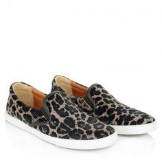 Jimmy Choo Sneakers – Demi Slip On Sneakers Leopard – in braun, schwarz – Sneakers für Damen