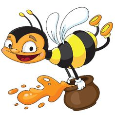 Cute Funny Bees - Honey Bee Free Images