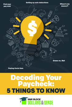 5 Things to Know about Your First Paycheck #money #education