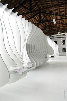 Enzo Ferrari museum, interior