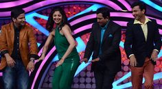 MasterChef season 3 judges dancing on the set of Nach Baliye!