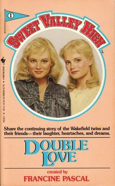 Can't wait to re-read this one: a book from my childhood - Sweet Valley High: Double Love by Francine Pascal