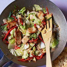Ginger Pork & Cabbage Stir-Fry  Multiple Stir Fry Recipes