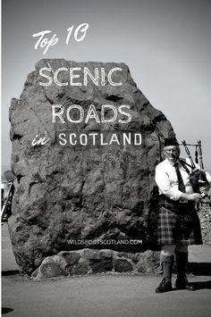 Top 10 Scenic Roads in Scotland