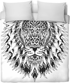 Sacred Spirit Animal Lion Coomforter $119.99 in all size