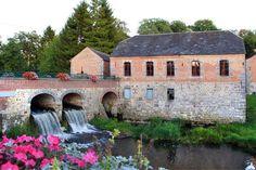 Le Moulin de Liessies (Nord, Pays de Sambre-Avesnois) : ancien moulin à eau datant du XVIIe siècle